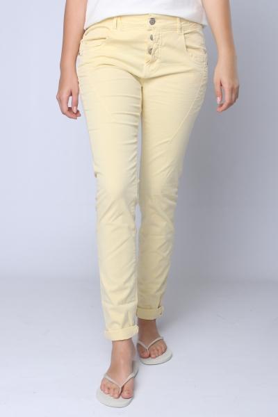 """GANG Damen Jeans - """"New Georgina cafissi yellow"""""""