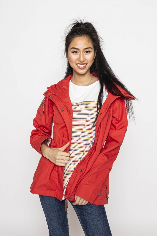 "MAZINE Damen Jacke - ""KIMBERLEY light Jacket red"""