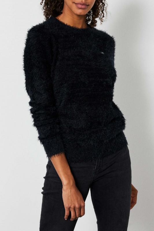 """PETROL Damen Pullover - """"Knitwear black"""""""