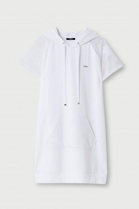 "LIU JO Damen Sweatshirt - ""Maxi-Kapuzensweatshirt"""