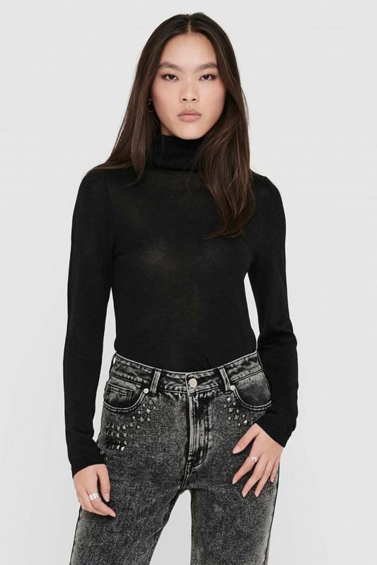 """ONLY Damen Pullover - """"Megan L/S Rollneck knt black"""""""