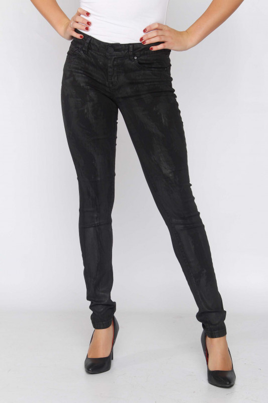"BUENA VISTA Damen Jeans - ""Italy Stretch Twill black pai"""