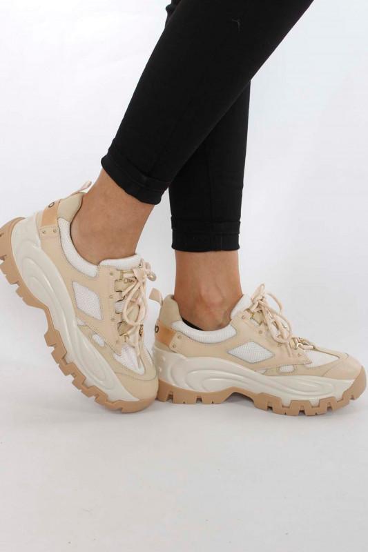 """Liu Jo Damen Sneaker - """"Wave 01 - Sneaker beige"""""""