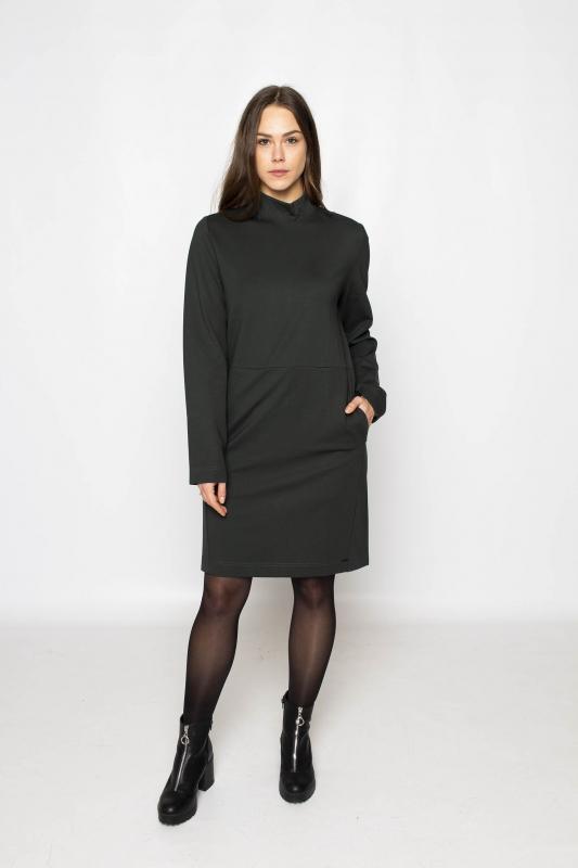 "KHUJO Damen Kleid - ""UREMA dark green"""