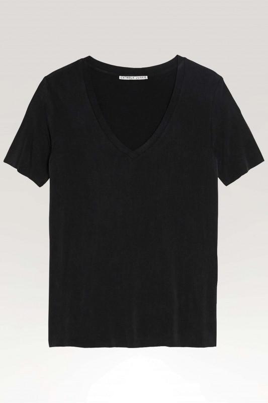 """CATWALK JUNKIE Damen T-Shirt - """"TS LUCA BLACK"""""""