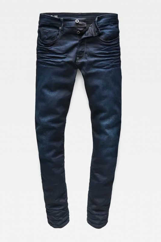 "G-STAR RAW Herren Jeans - ""3301 taperes slander indigo dk"""
