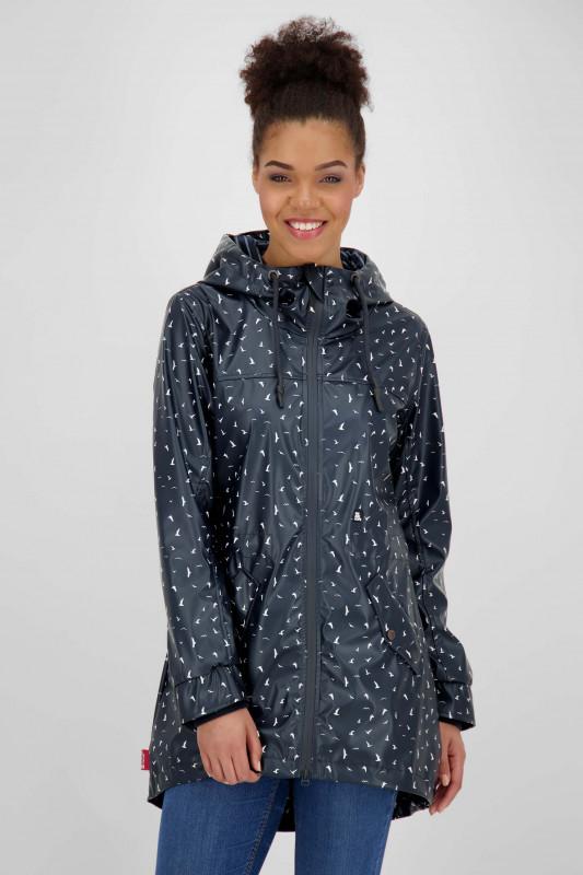 """ALIFE AND KICKIN Damen Jacke- """"AudreyA rain jacket marine"""""""
