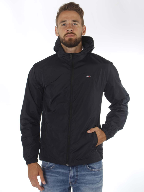 "TOMMY HILFIGER Herren Jacke - ""Packable Windbreaker black"""