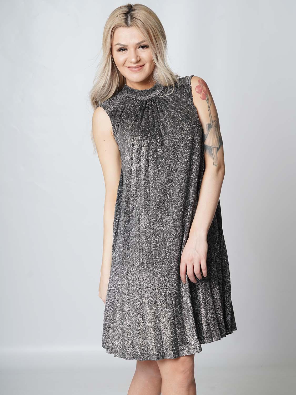 "Guess Damen Kleid - ""Diva Dress black and silver"" | Tayler ..."