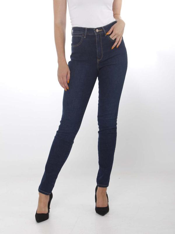 """WRANGLER Damen Jeans - """"High rise skinny night blue"""""""