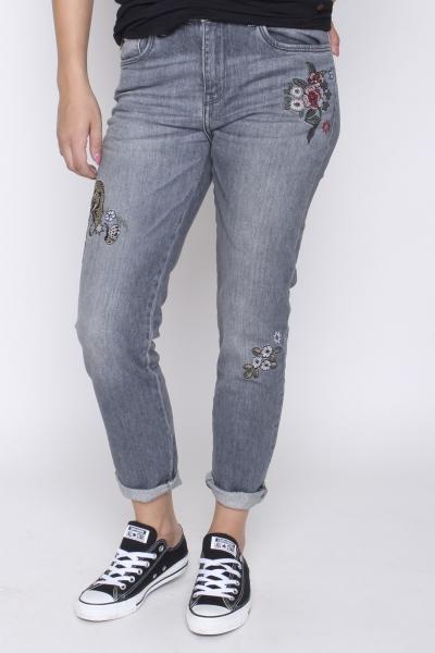 "LTB Damen Jeans - ""Lina Ocean grey undamaged"""