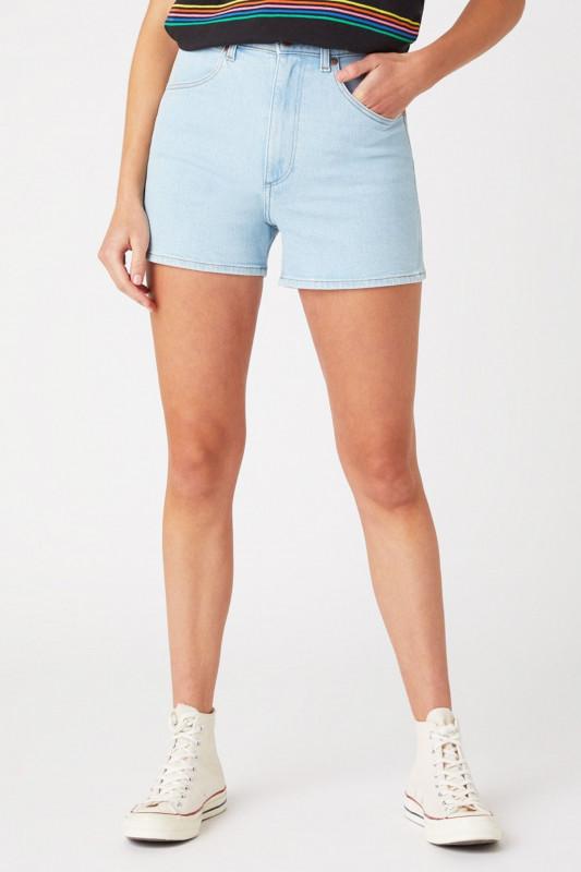 "WRANGLER Damen Shorts - ""MOM SHORT IN CLOUD NINE"""