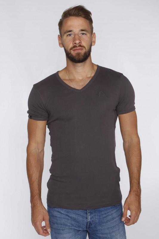 """CHASIN' Herren T-Shirt - """"Cave-B T-Shirt SS antracite"""""""