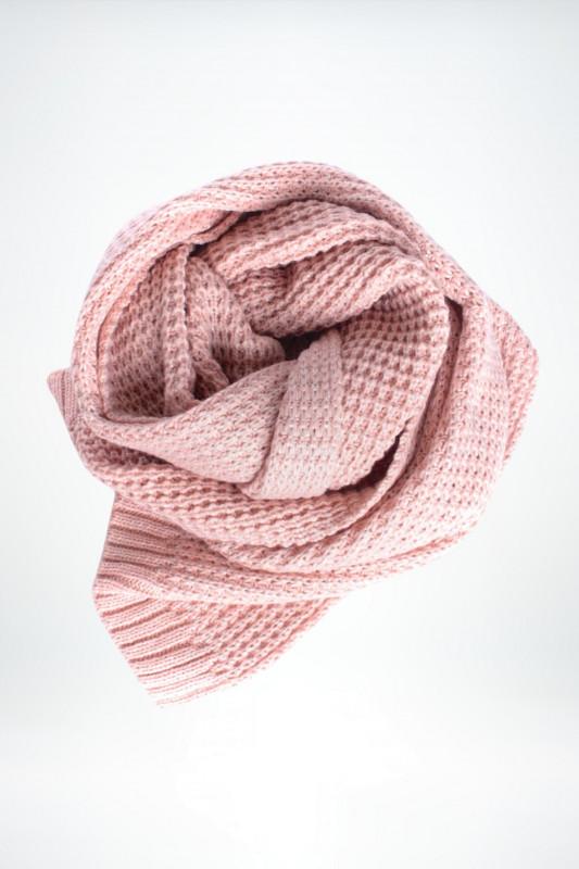 """STRANGE Damen Schal - """"NAPOLEA rosy / silver glitter"""""""