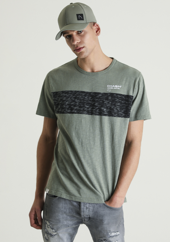 "Chasin Herren T-Shirt - ""Jeremy shirt green"""