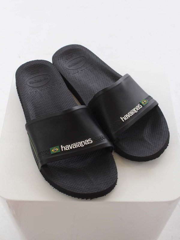 """Havaianas Herren Pantoletten - """"Slide brasil black"""""""