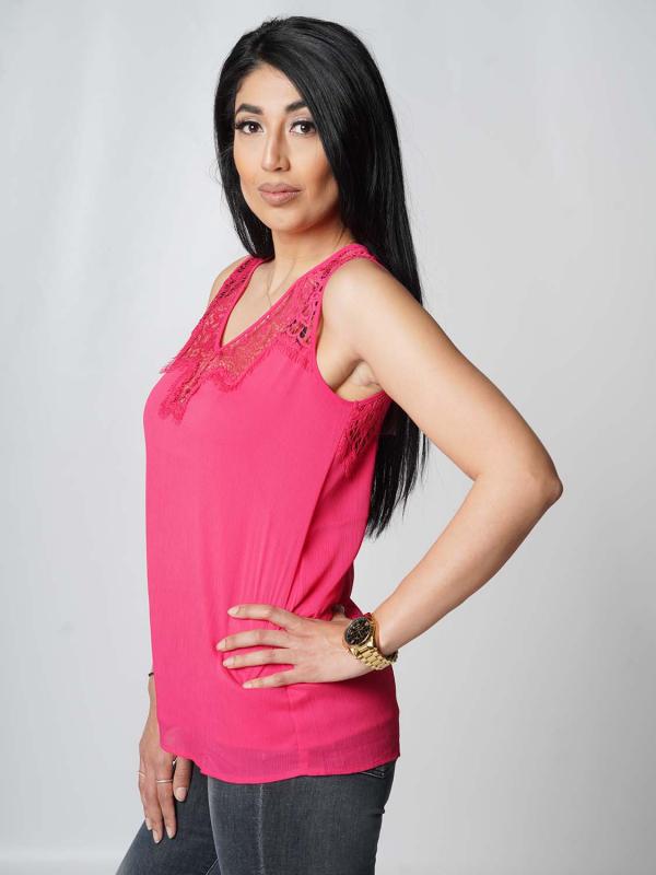 "Guess Damen Top - ""SL Miriam Top souvenir pink"""