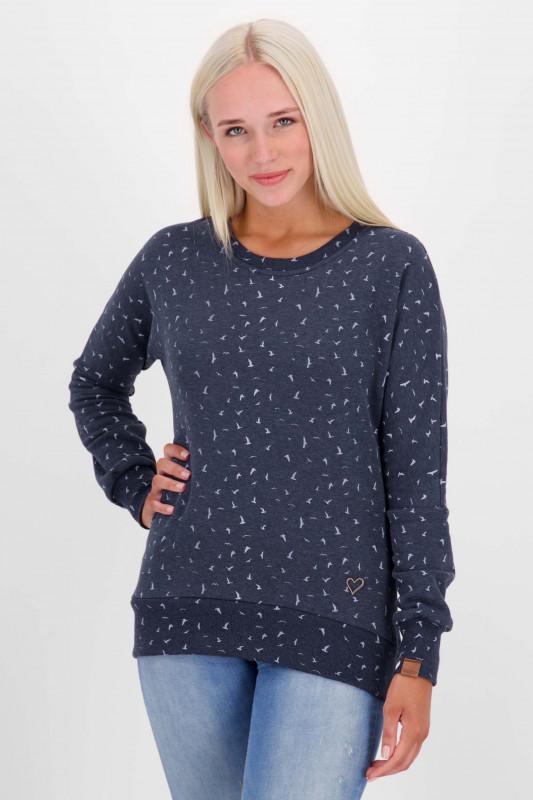 "ALIFE&KICKIN Damen Sweatshirt - ""DarlaAK Crewneck marine"""