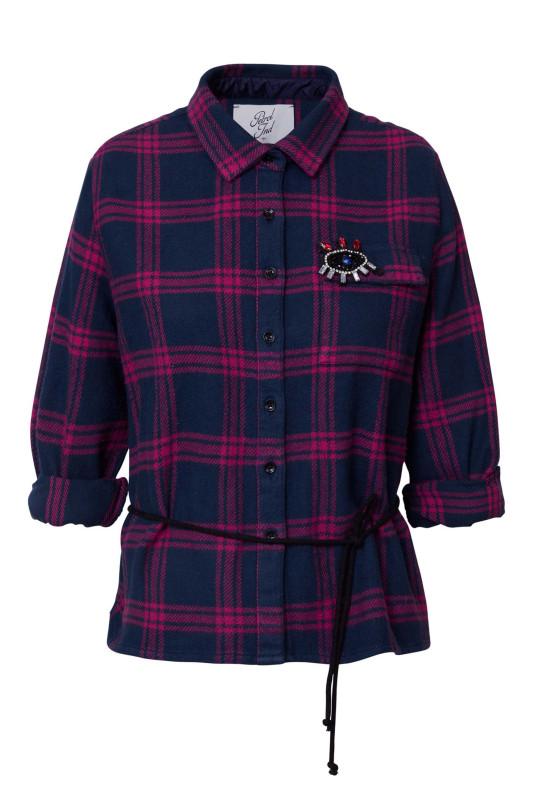 """PETROL Damen Hemd """"Shirt Long Sleeve deep navy"""""""