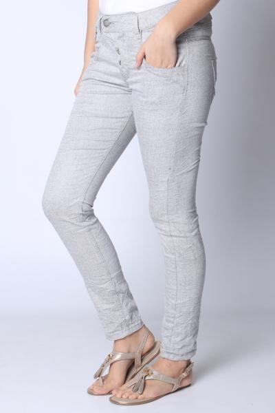 """GANG Damen Jeans - """"Marge line str. grey silver"""""""
