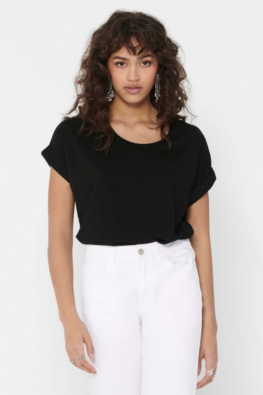"ONLY Damen T-Shirt - ""Moster SS o-neck top black"""
