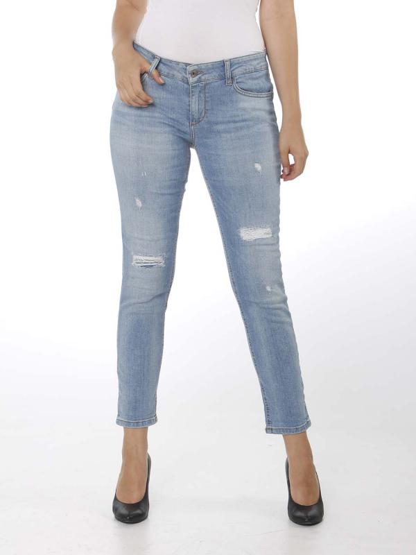 """Liu Jo Damen Jeans - """"B.Up Monroe Reg. w. Den. Blue"""""""
