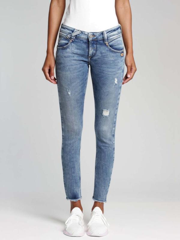 "Gang Damen Jeans - ""Gang Nena Skinny Fit Cropped Jeans"""