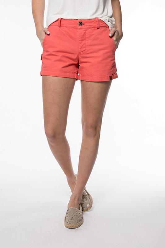 "ALIFE AND KICKIN Damen Shorts - ""JULE coral"""
