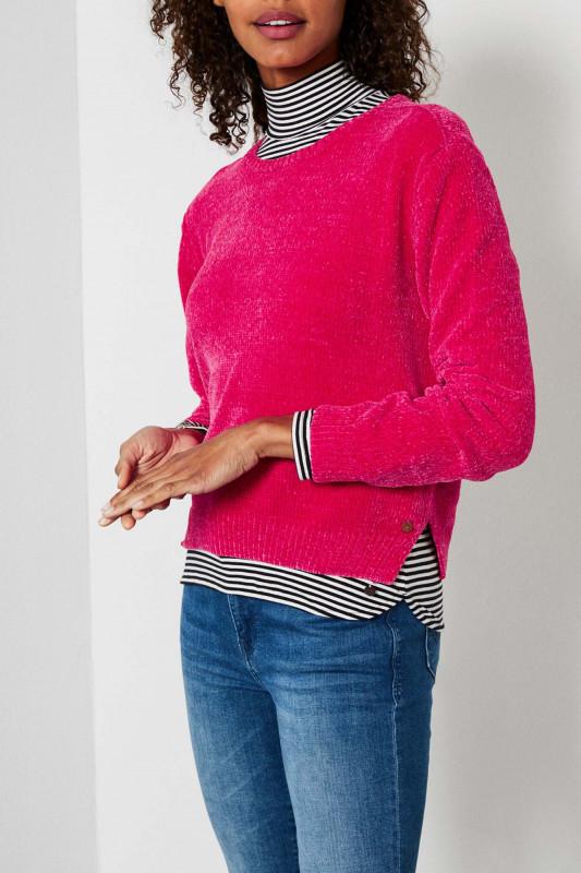 """PETROL Damen Pullover - """"Knitwear love potion"""""""