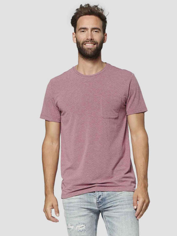 "Circle of Trust Herren T-Shirt - ""Tor Tee wild rouge"""