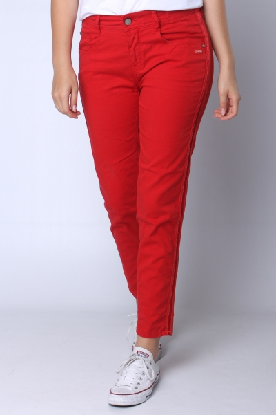 """GANG Damen Jeans - """"Amelie Cropped red tomato"""""""