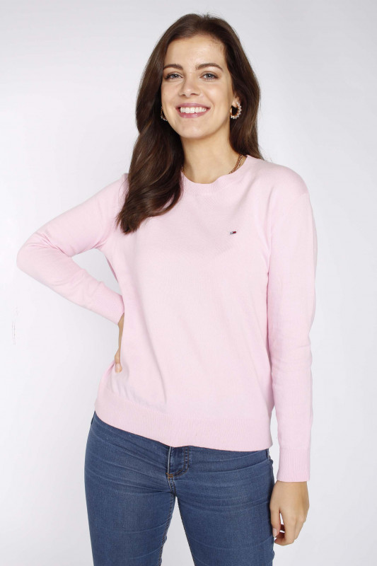 """TOMMY HILFIGER Frauen Pullover - """"Soft Touch Crew Sweater romant"""""""