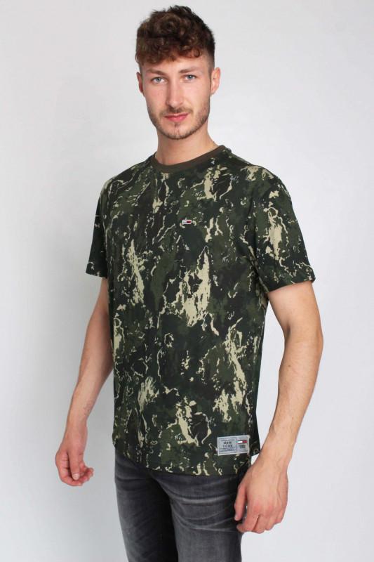 "TOMMY HILFIGER Herren T-Shirt - ""TJM AOP Camo Tee camo print"""