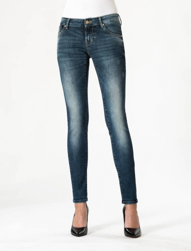 "CUP OF JOE Damen Jeans - ""Gina Denim Saphire Blue"""