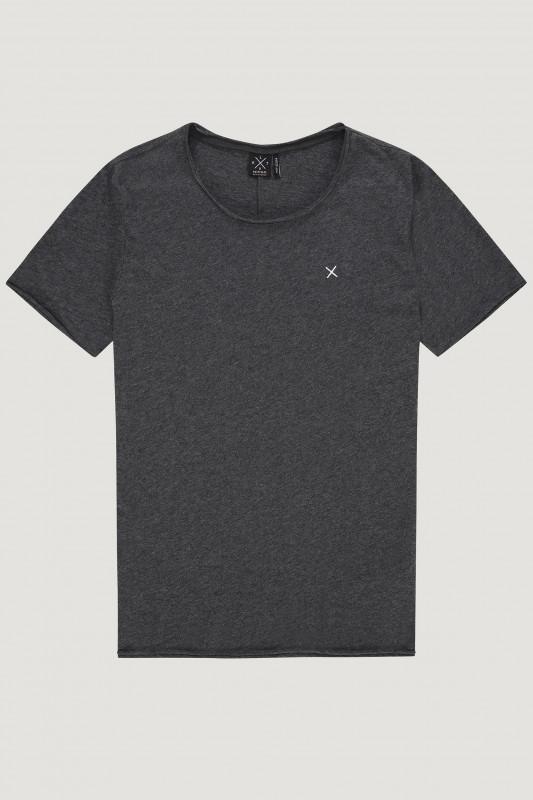 """KULTIVATE Herren T-Shirt - """"TS Wrecker dark grey melange"""""""
