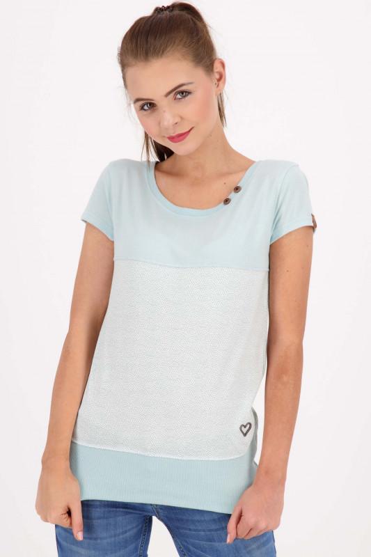 "ALIFE AND KICKIN Damen T-Shirt - ""CoraAK Shirt ice"""