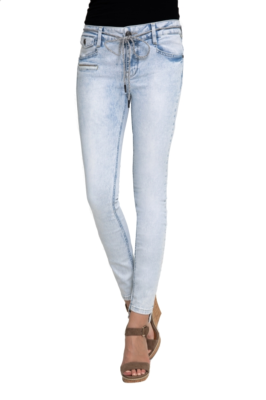 "ZHRILL Damen Jeans - ""Mia blue W7386"""