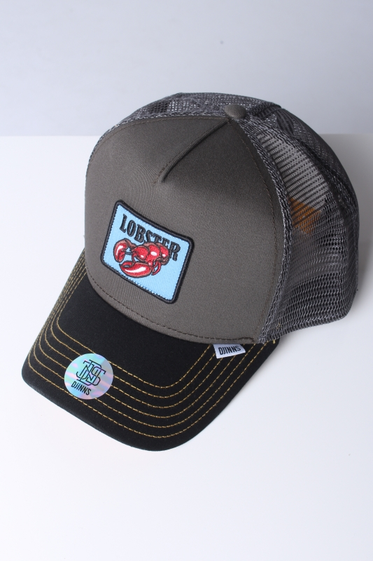 "DJINNS Herren Cap - ""HFT food lobster olive"""