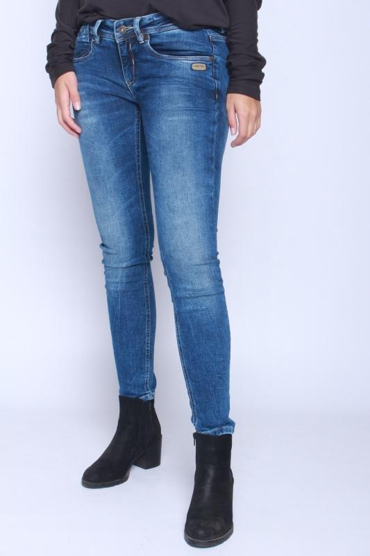 "GANG Damen Jeans - ""Faye blue hiperpower blue mid"""