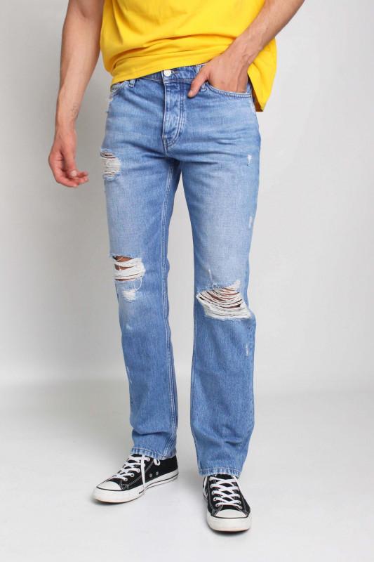 "TOMMY HILFIGER Herren Jeans - ""Ethan rlxd AE714 denim light"""