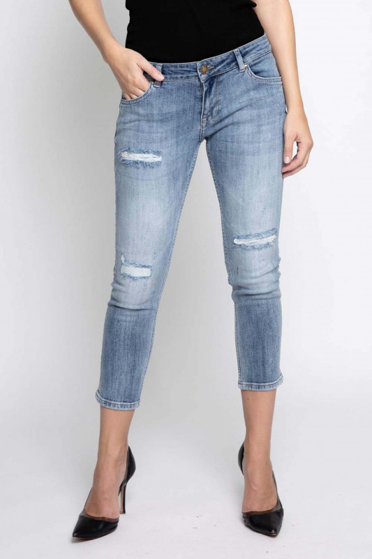 "Zhrill Damen Jeans - ""Anita blue W7338"""