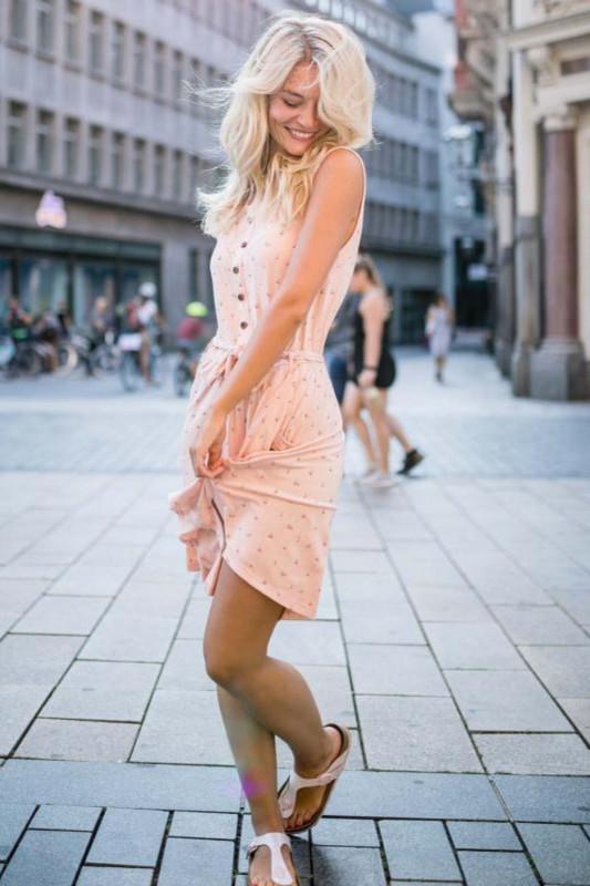 "Alife & Kickin Damen Kleid - ""Scarlett Dress candy"""