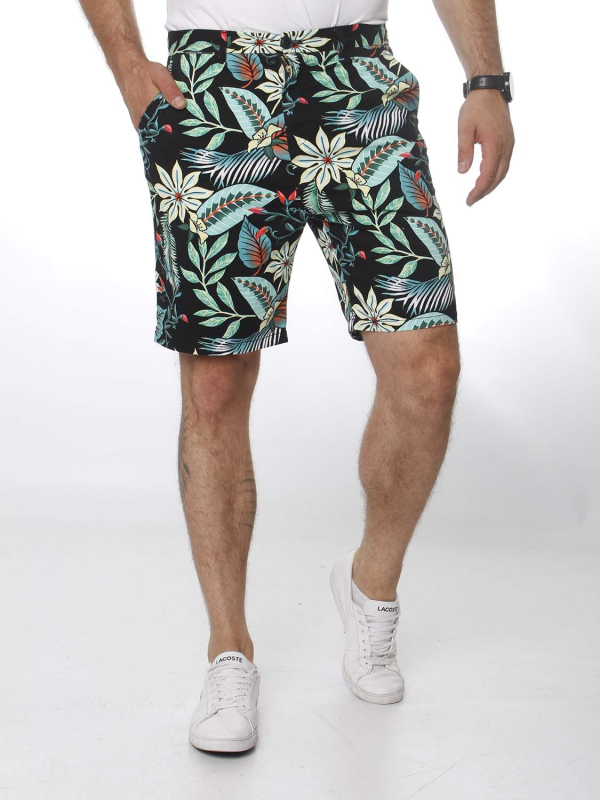 "Scotch & Soda Herren Shorts - ""Mid length- all over printed s"""