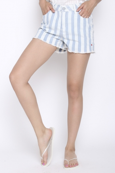 """KHUJO Damen Shorts - """"Saraswati Short Denim"""""""