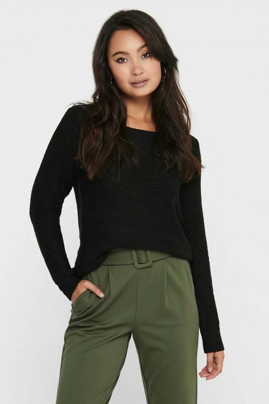 "ONLY Damen Pullover - ""Geena XO LS Pullover black"""
