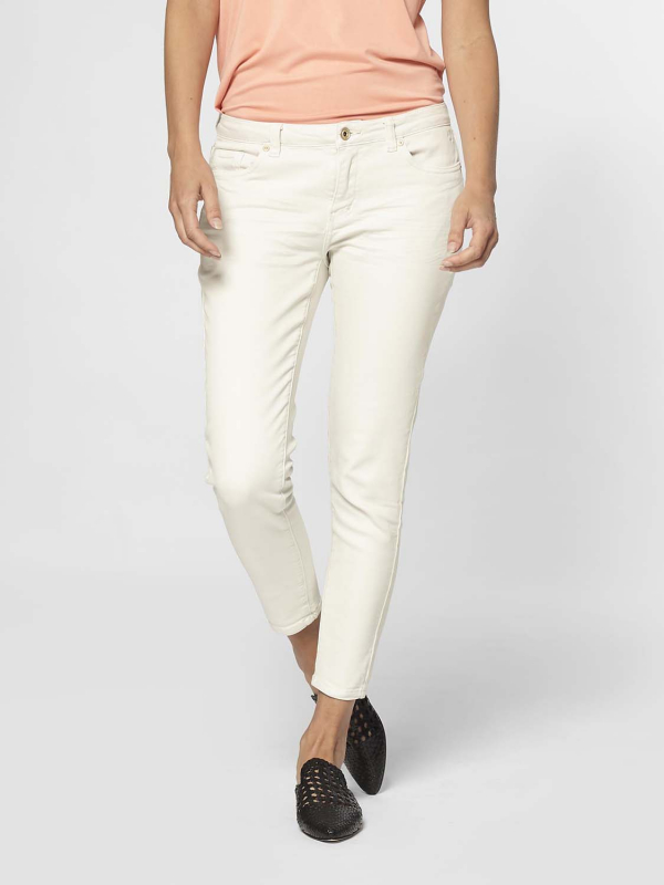 """Circle of Trust Damen Jeans - """"Poppy Cropped off white"""""""