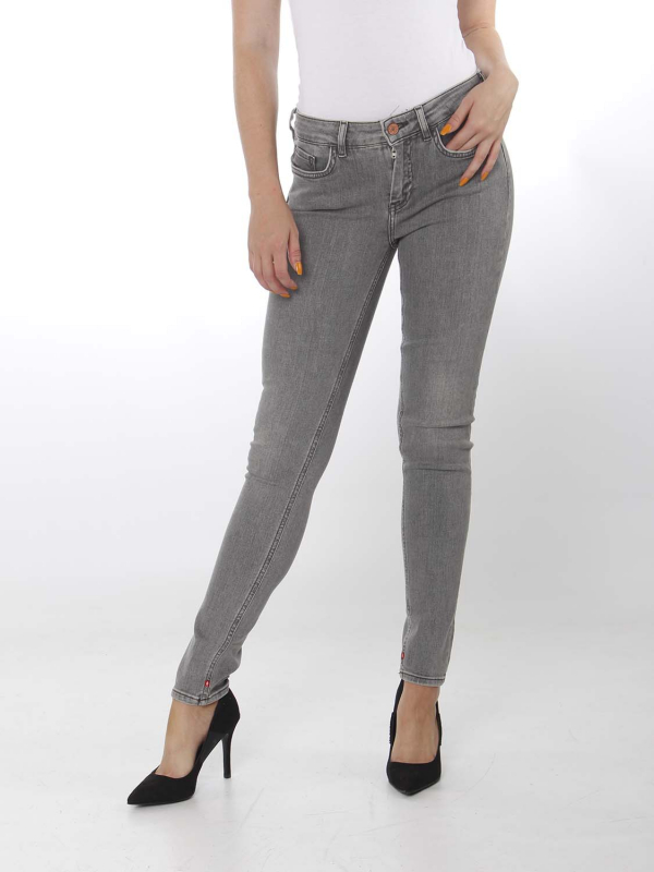 "MAISON & SCOTCH Damen Jeans - ""La Bohemienne grey glory"""