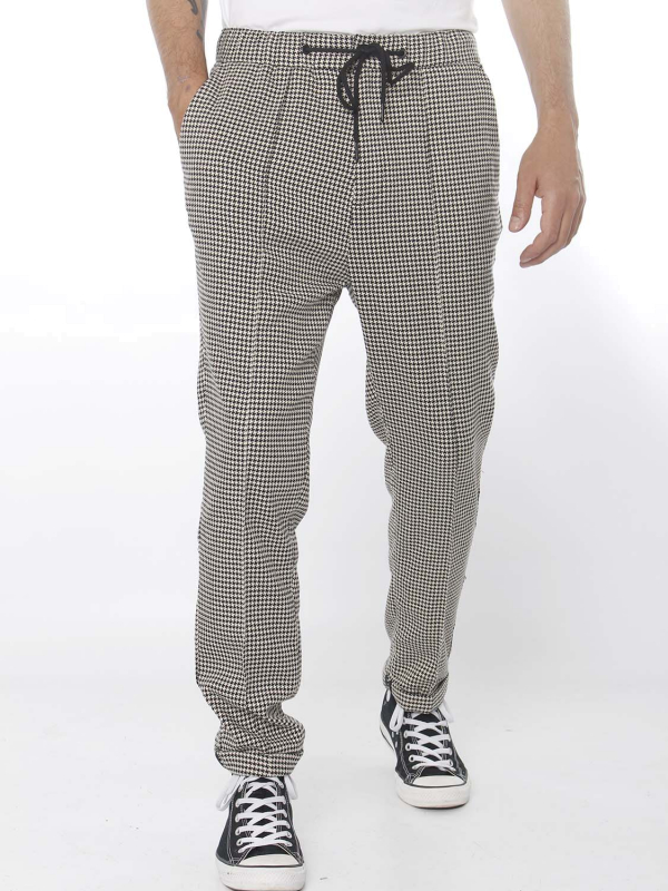 "Scotch & Soda Herren Hose - ""Houndstooth Pant with Pintuck"""
