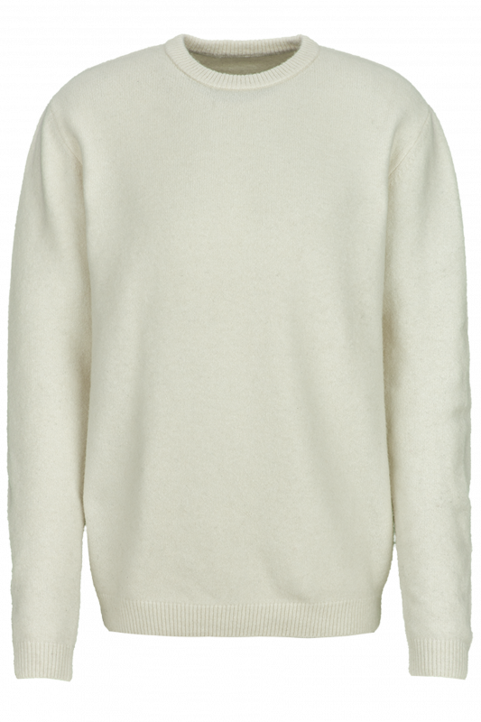 """YOUNG POETS SOCIETY Herren Pullover - """"Janny rough white dusk"""""""