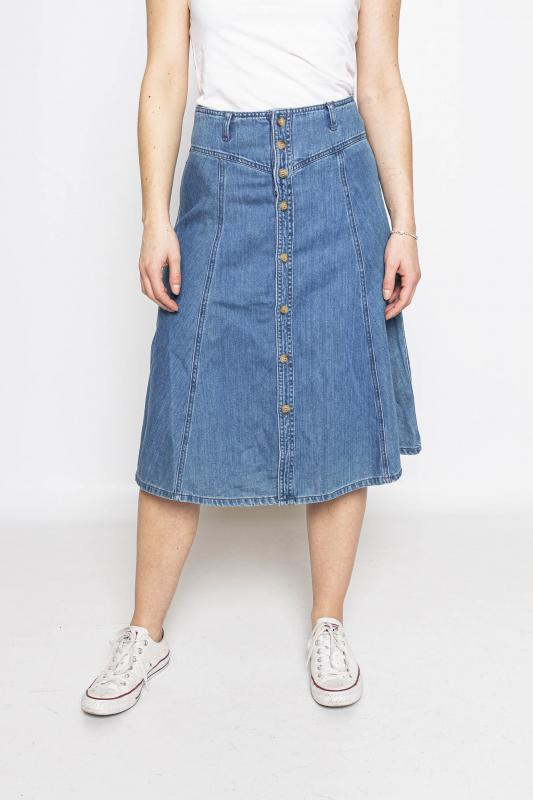 """ONLY Damen Rock - """"New Royce HW Midi Dnm Skirt"""""""